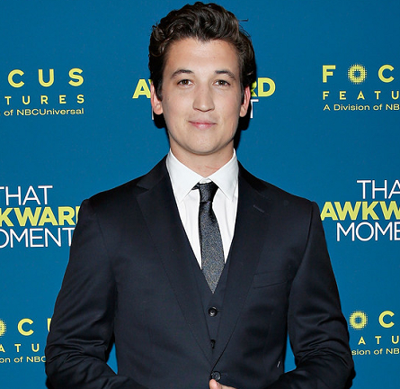 Miles Teller in Z Zegna | 'That Awkward Moment' NYC Screening