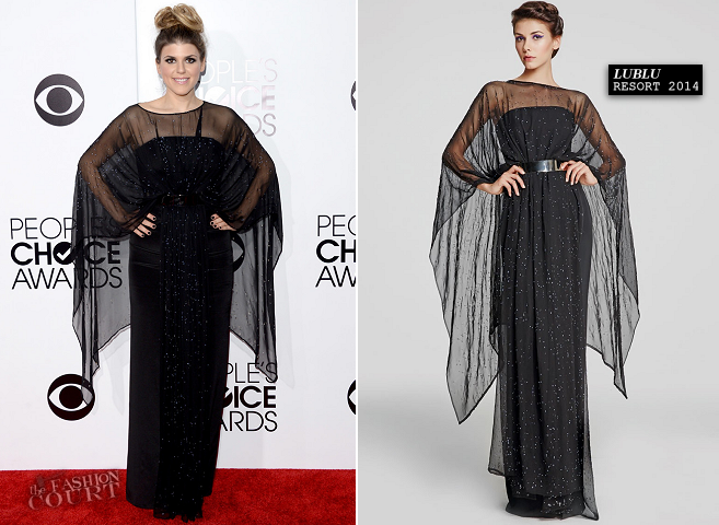 Molly Tarlov in Lublu | 2014 People's Choice Awards