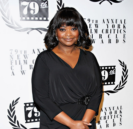 Octavia Spencer in David Meister | 2013 New York Film Critics Circle Awards