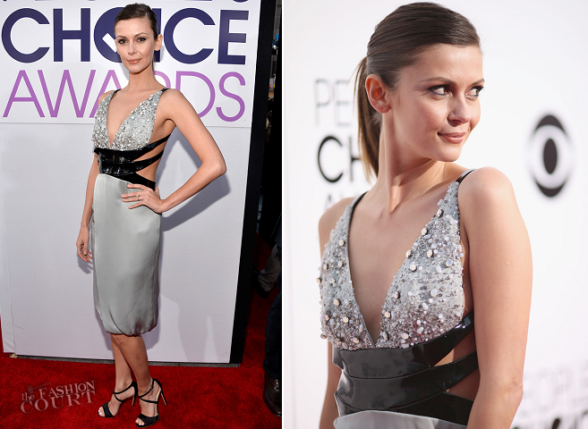 Olga Fonda in Giorgio Armani | 2014 People's Choice Awards
