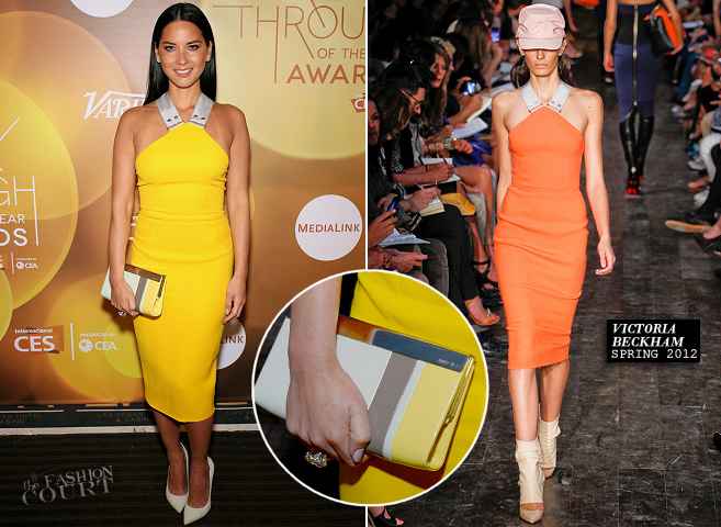 Olivia Munn in Victoria Beckham | 2014 Variety Breakthrough Of The Year Awards