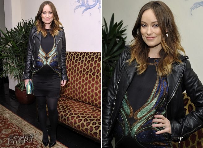 Olivia Wilde in Gucci | W Magazine's Golden Globes 2014 Celebration