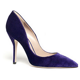 Paul Andrew SHAKTI Suede Court Pumps
