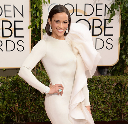 Paula Patton in Stéphane Rolland Couture | 2014 Golden Globes