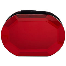 Rauwolf Fall 2013 Red Oval Gemstone Clutch