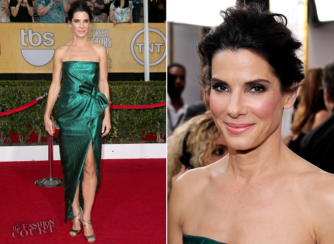 Sandra Bullock in Lanvin | 2014 SAG Awards