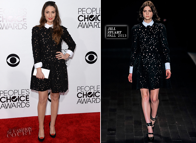 Sara Bareilles in Jill Stuart | 2014 People's Choice Awards