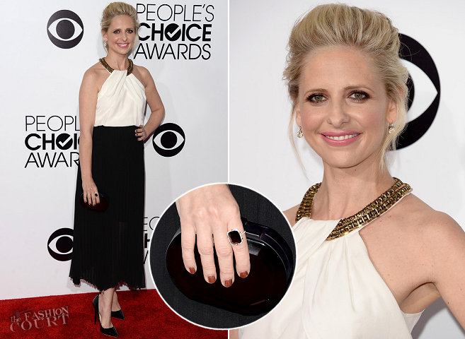 Sarah Michelle Gellar in Sachin + Babi | 2014 People's Choice Awards