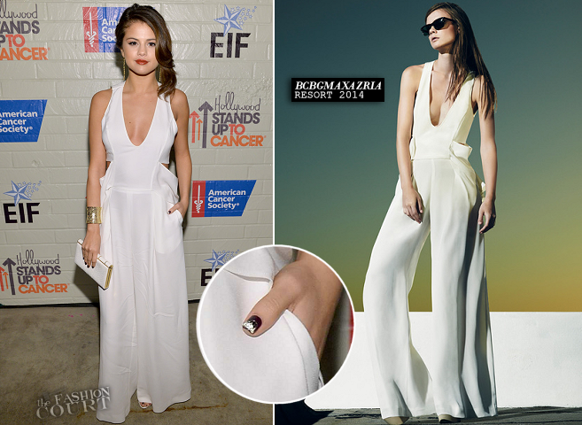 Selena Gomez in BCBGMAXAZRIA | Hollywood Stands Up to Cancer