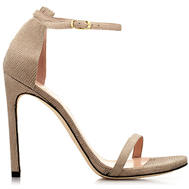 Stuart Weitzman NUDIST Sandals in Nude