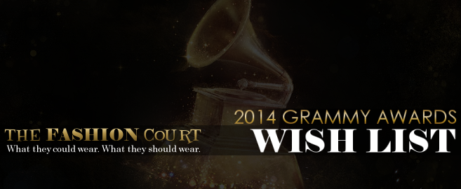2014 GRAMMY Awards - WISH LIST