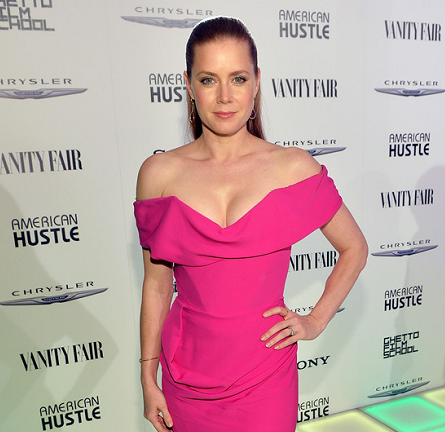 Amy Adams in Vivienne Westwood Gold Label | Vanity Fair Toast to 'American Hustle'