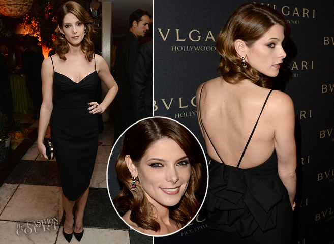 Ashley Greene in Dsquared² | BVLGARI's Decades of Glamour Party