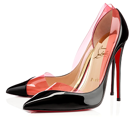 Christian Louboutin 'Miss Rigidaine' Pumps in Framboisine PVC