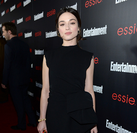 Crystal Reed in Lanvin | Entertainment Weekly SAG Awards Celebration 2014
