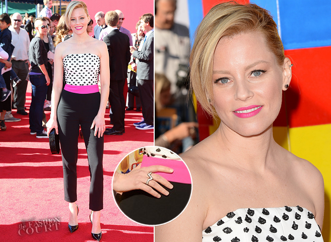 Elizabeth Banks in OSMAN | 'The LEGO Movie' Hollywood Premiere