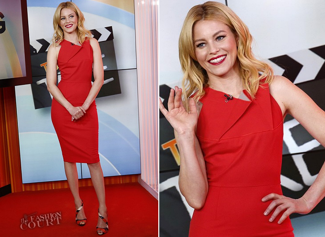 Elizabeth Banks in Roland Mouret | 'The Today Show'