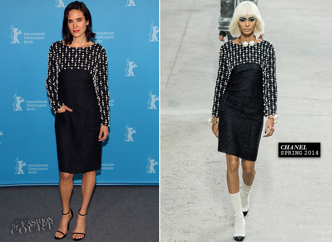 Jennifer Connelly in Chanel | 'Aloft' Photocall - 2014 Berlinale International Film Festival