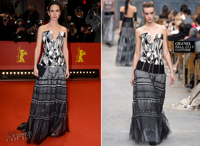 Jennifer Connelly in Chanel Couture | 'Aloft' Premiere - 2014 Berlinale International Film Festival