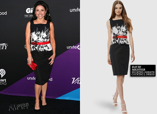 Julia Louis-Dreyfus in David Meister | unite4:humanity Gala 2014