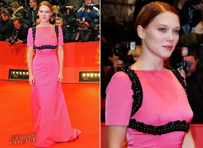 Léa Seydoux in Prada | 'The Grand Budapest Hotel' Premiere - 2014 Berlinale International Film Festival