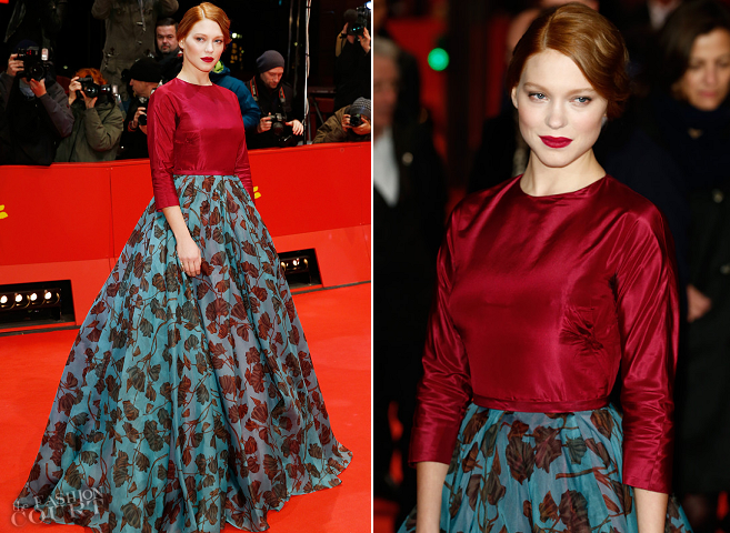 Léa Seydoux in Prada | 'La belle et la bête' Premiere - 2014 Berlinale International Film Festival