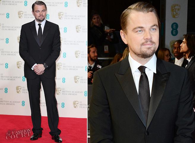 Leonardo DiCaprio in Giorgio Armani | 2014 BAFTAs