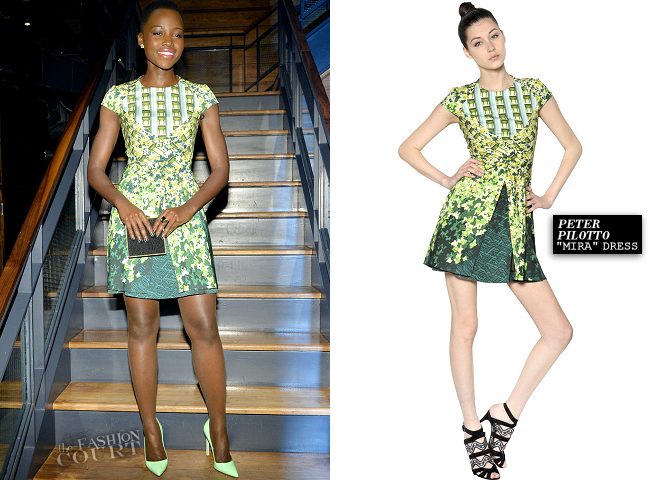 Lupita Nyong'o in Peter Pilotto | DuJour Magazine Cover Celebration