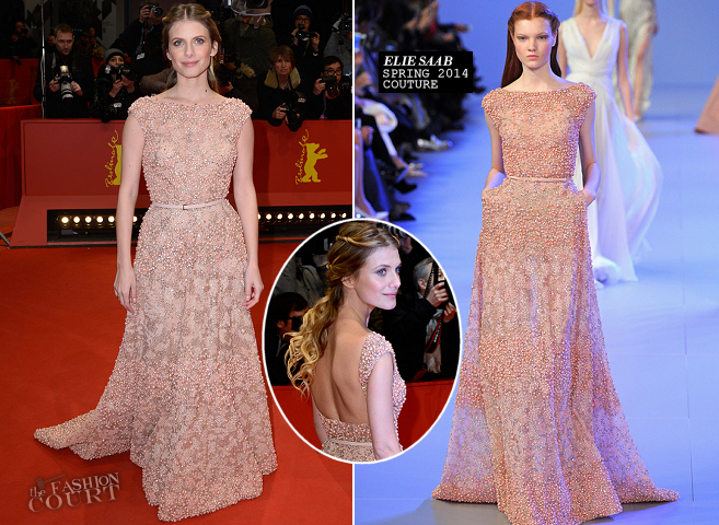 Melanie Laurent in Elie Saab Couture | 'Aloft' Premiere - 2014 Berlinale International Film Festival