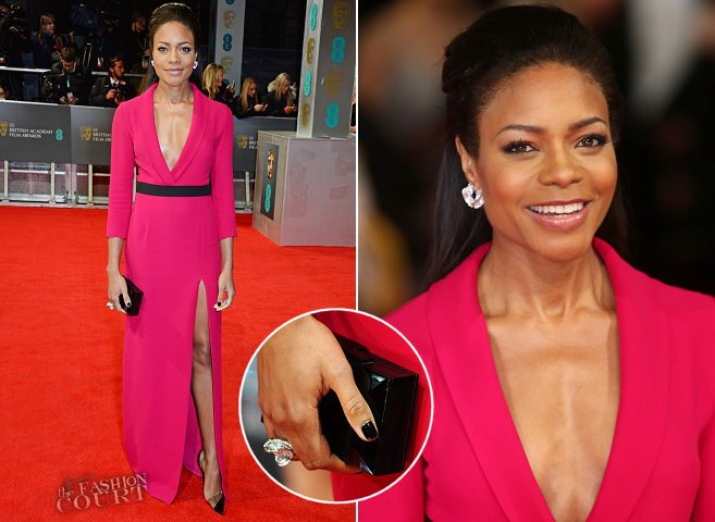 Naomie Harris in Gucci | 2014 BAFTAs