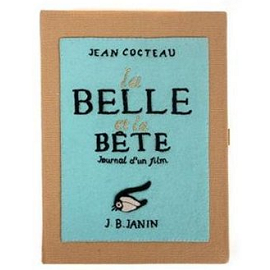 Olympia Le-Tan LA BELLE ET LA BETE Book Clutch (Beauty and the Beast)