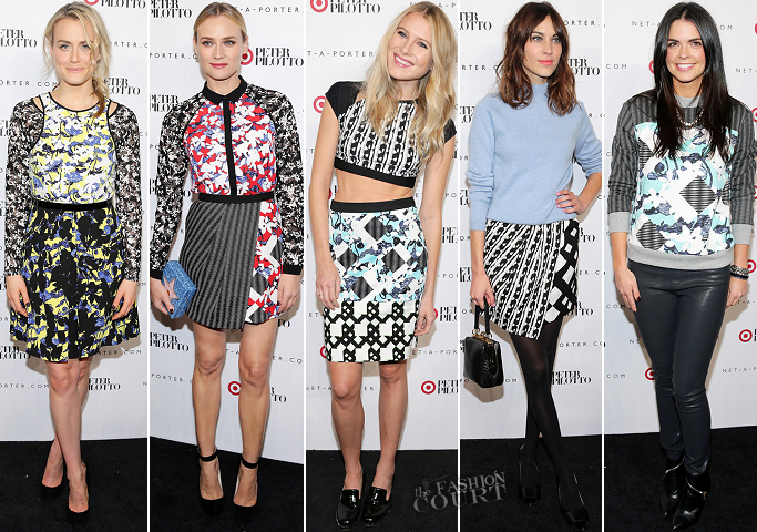 Best Dressed Poll: PETER PILOTTO for Target Launch Event