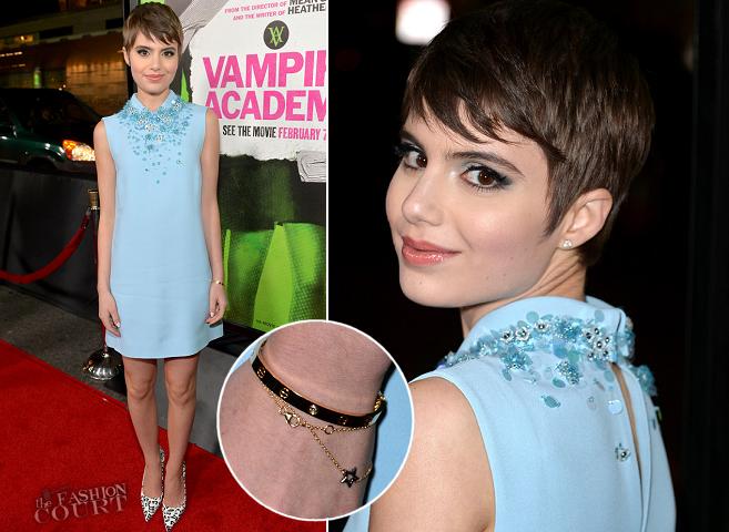 Sami Gayle in Miu Miu | 'Vampire Academy' LA Premiere