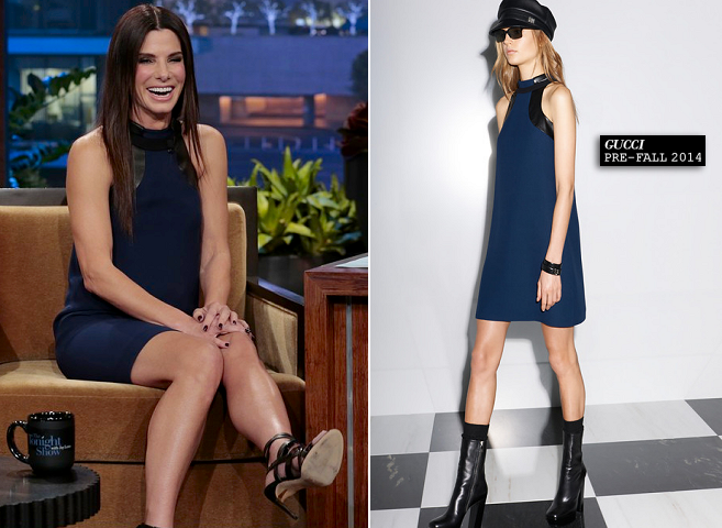 Sandra Bullock in Gucci | 'The Tonight Show with Jay Leno'