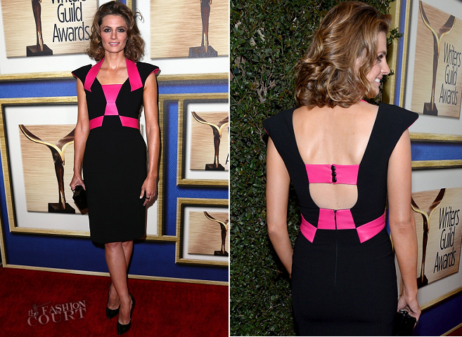 Stana Katic in Rubin Singer | 2014 Writers Guild Awards - L.A. Ceremony