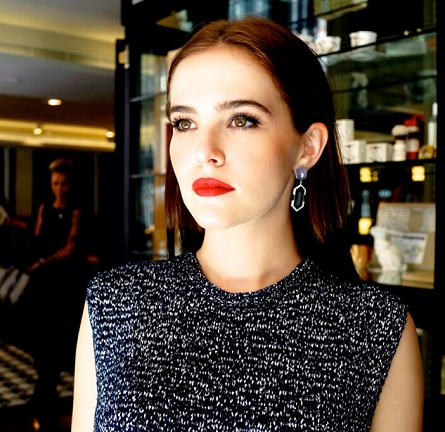 Zoey Deutch in Bec & Bridge and J Brand | 'Vampire Academy' Sydney Press Day