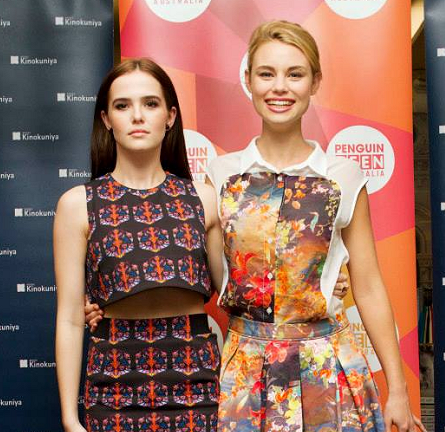 Zoey Deutch in Tanya Taylor | 'Vampire Academy' Sydney Fan Event