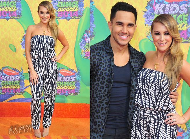 Alexa PenaVega in Tart | 2014 Kids' Choice Awards