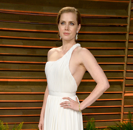 Amy Adams in Carolina Herrera | 2014 Vanity Fair Oscar Party