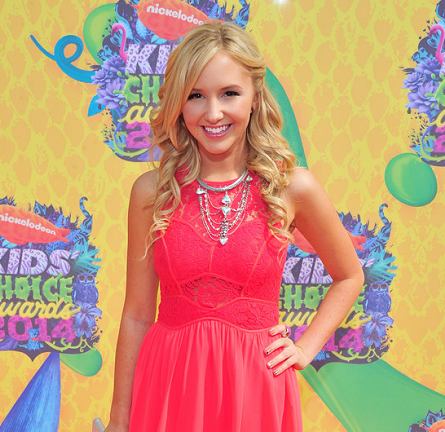 Audrey Whitby in BCBGeneration | 2014 Kids' Choice Awards