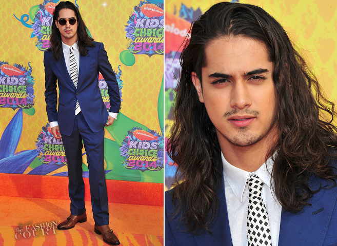 Avan Jogia in Armani | 2014 Kids' Choice Awards