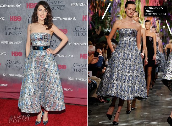 Carice van Houten in Dior | 'Game of Thrones' Season 4 NYC Premiere