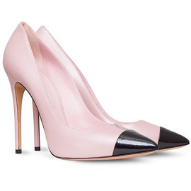 Casadei DAYTIME Cap Toe Pumps with PVC Insert