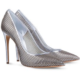 Casadei BARBARELLA Lasered 3D Chain Pumps