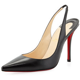 Christian Louboutin 'Apostrophy' Slingback Pumps