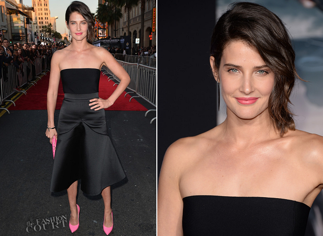 Cobie Smulders in Stella McCartney | 'Captain America: The Winter Soldier' Hollywood Premiere