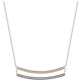 Dana Rebecca Designs Sylvie Rose Double Bar Necklace