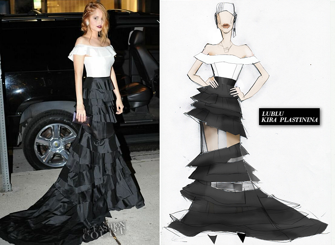 Debby Ryan in LUBLU | 2014 Elton John AIDS Foundation Oscar Viewing Party
