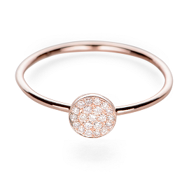 EF Collection Diamond Disc Stack Ring