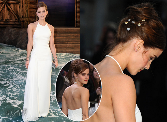 Emma Watson in Ralph Lauren | 'NOAH' London Premiere